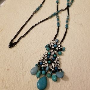 NEW EXPRESS Long Statement Necklace